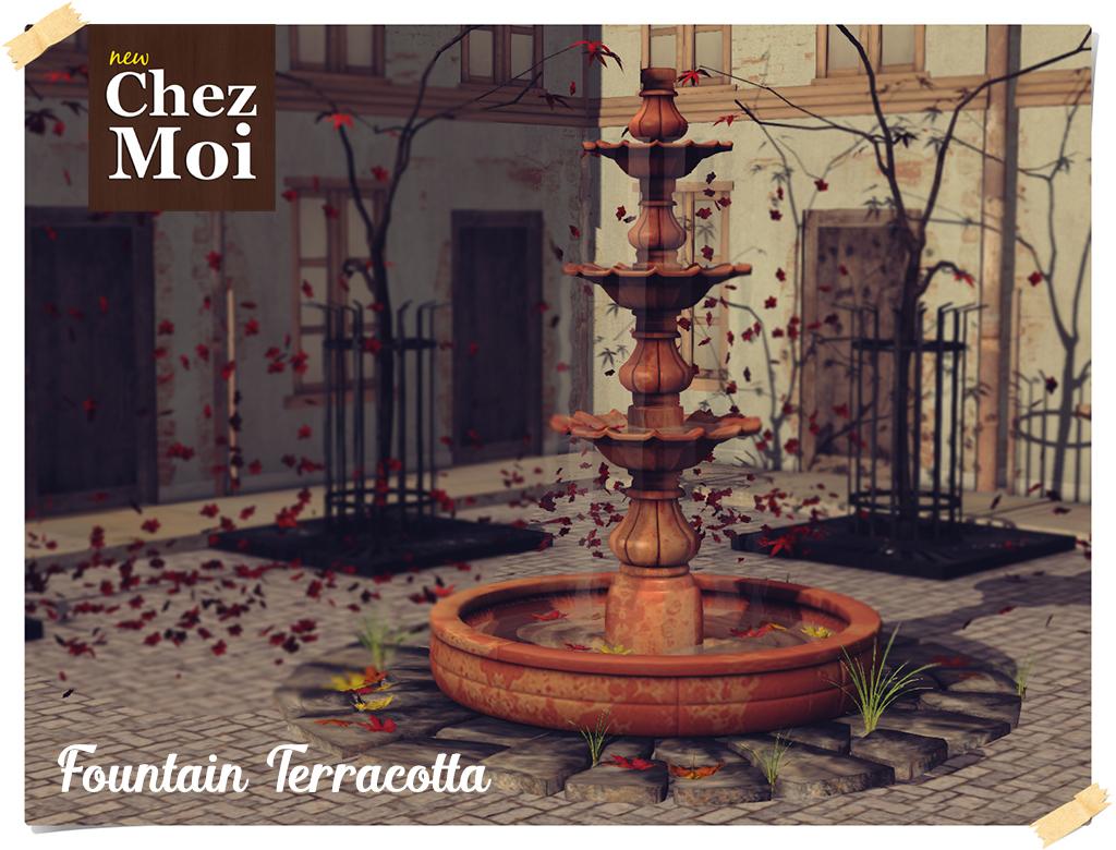 Fountain Terracotta CHEZ MOI
