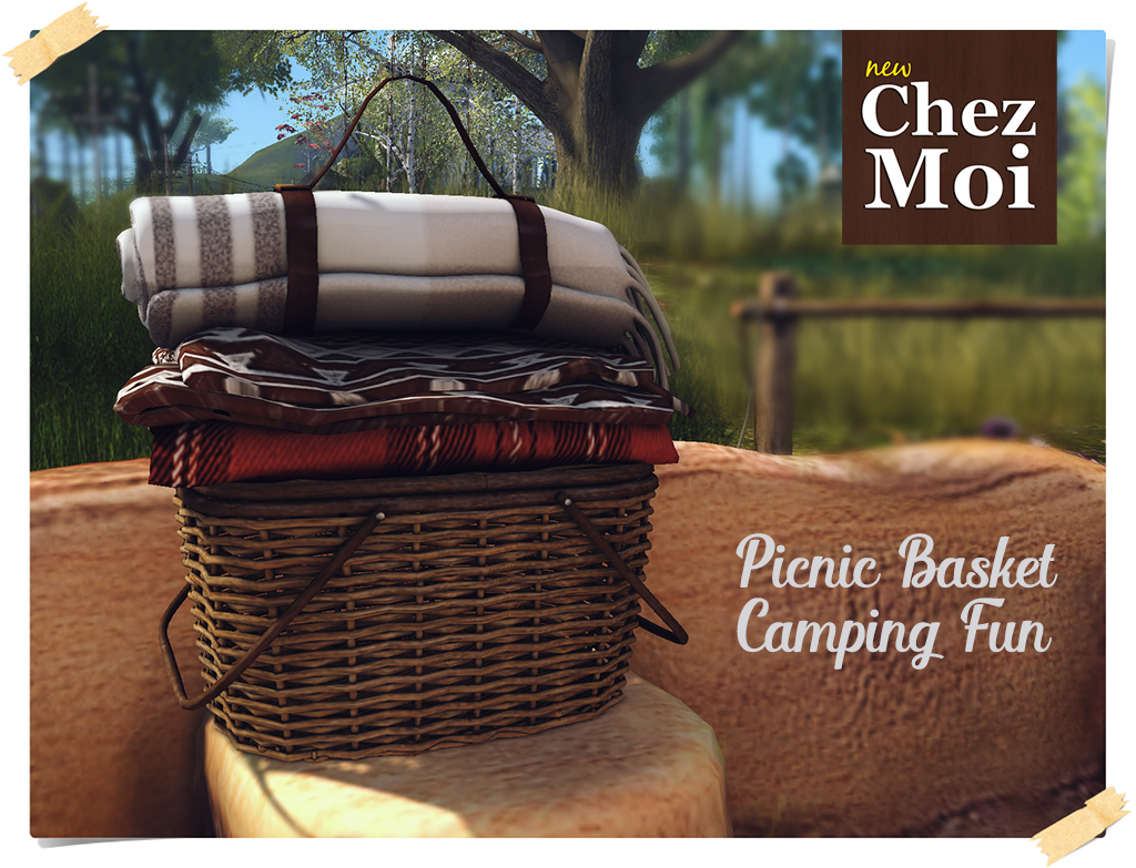 Campin Fun Picnic Basket CHEZ MOI
