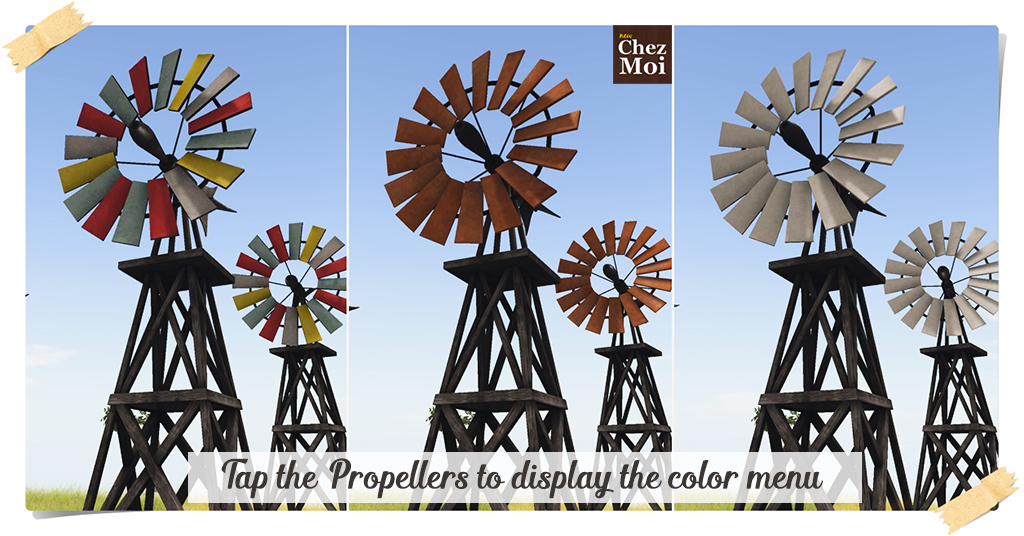 Windmill Colors CHEZ MOI