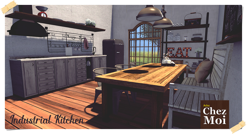 Industrial Kitchen Style Pic3 L CHEZ MOI