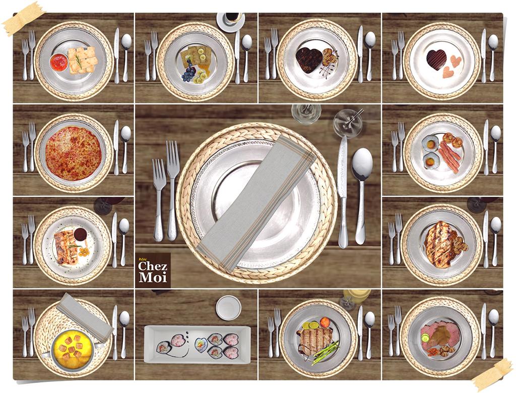 Industrial Table Multiscene CHEZ MOI