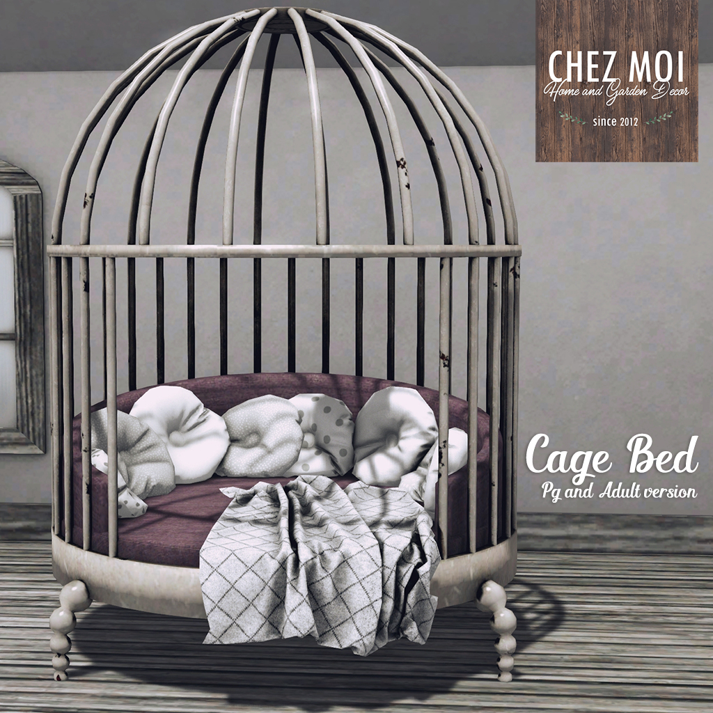 Cage Bed Squared CHEZ MOI