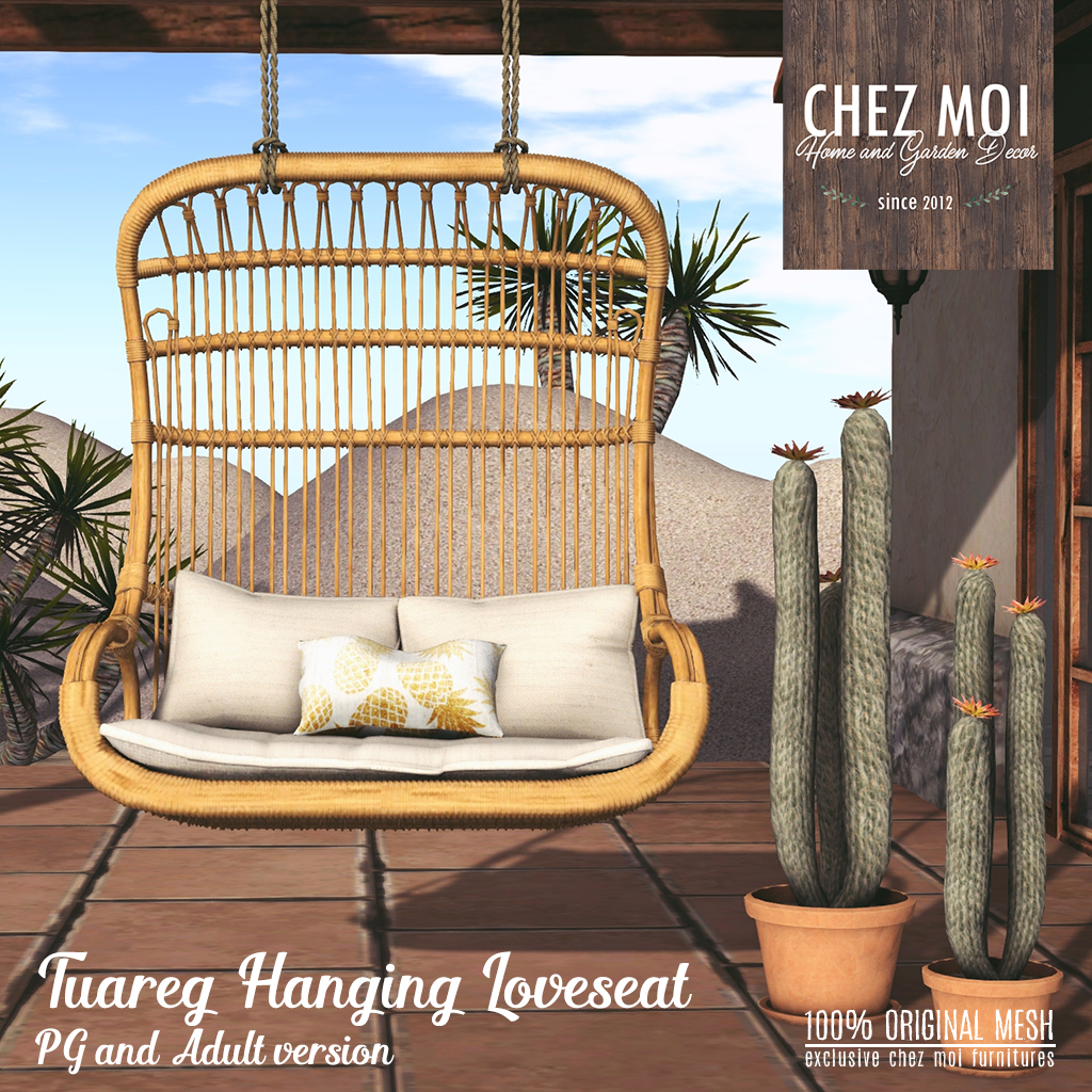 ez hang chairs loveseat instructions dining room chair seat covers uk tuareg hanging chez moi