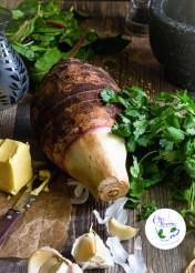 Raw Taro (Colcasia)