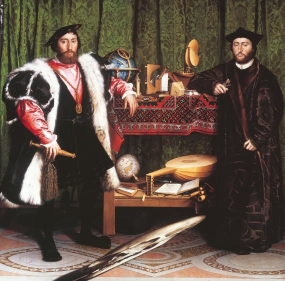 Hans Holbein's the Ambassadors
