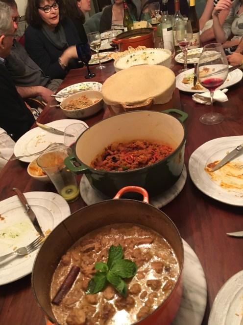 Chez Nous Dinners, Daria Souvorova, Indian Night, Goat Biryani, Chicken Fig Curry
