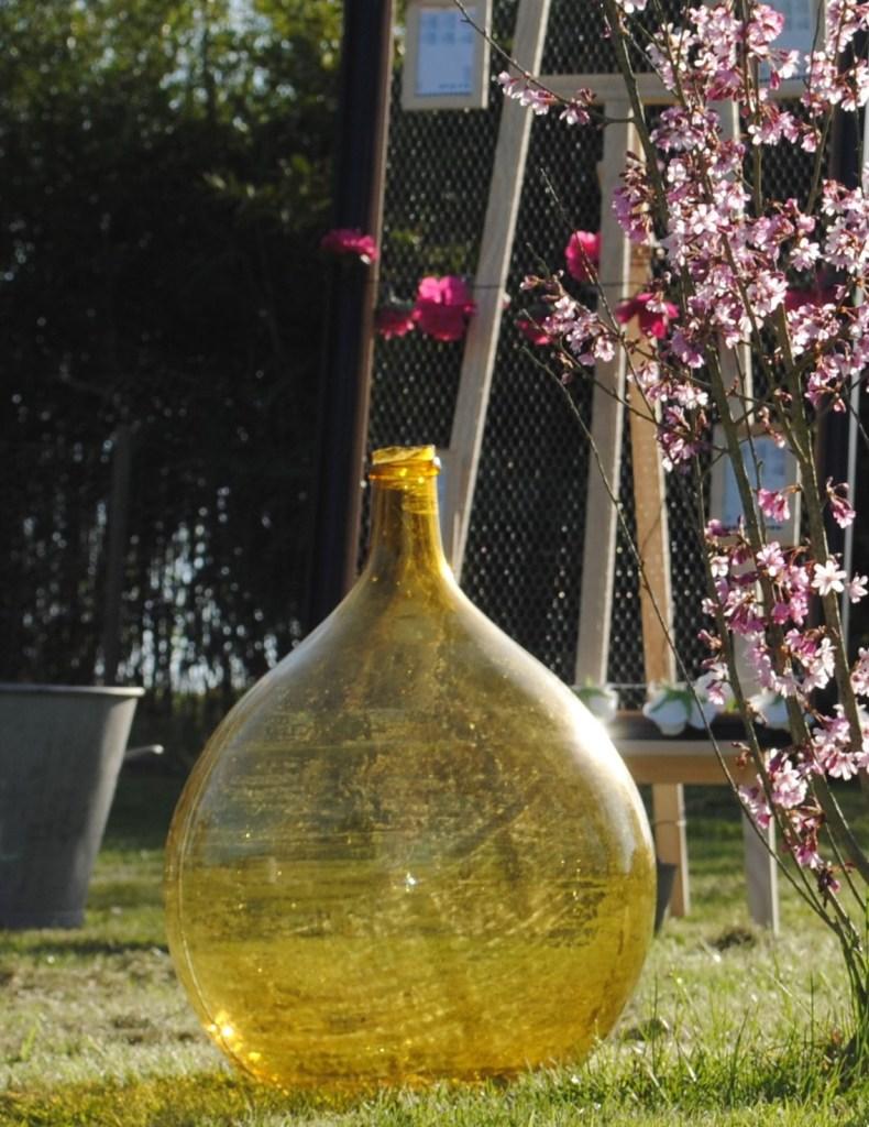 Déco vintage location dame jeanne 37 tours indre et loire région centre événements réception mariage déco vin d'honneur