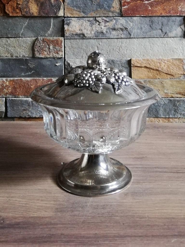 Drageoir verre métal location pour candy bar tours 37 indre et loire