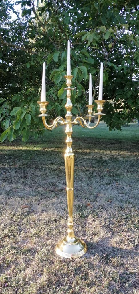 Location chandelier doré 120 cm Tours 37 indre et loire région centre