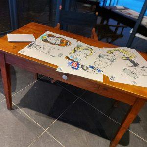 location décoration bureau rectangulaire table bois pour urne 37 Tours région centre loir et cher 41 Blois