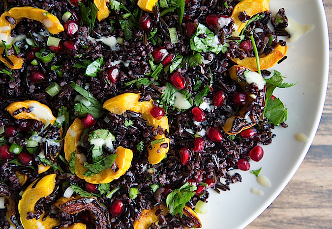 Middle Eastern Inspired Black Rice Salad Chez Us