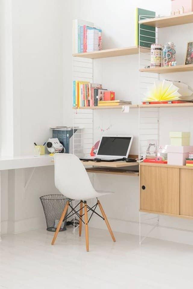 des étagères pour le bureau - 10 astuces pour organiser votre bureau