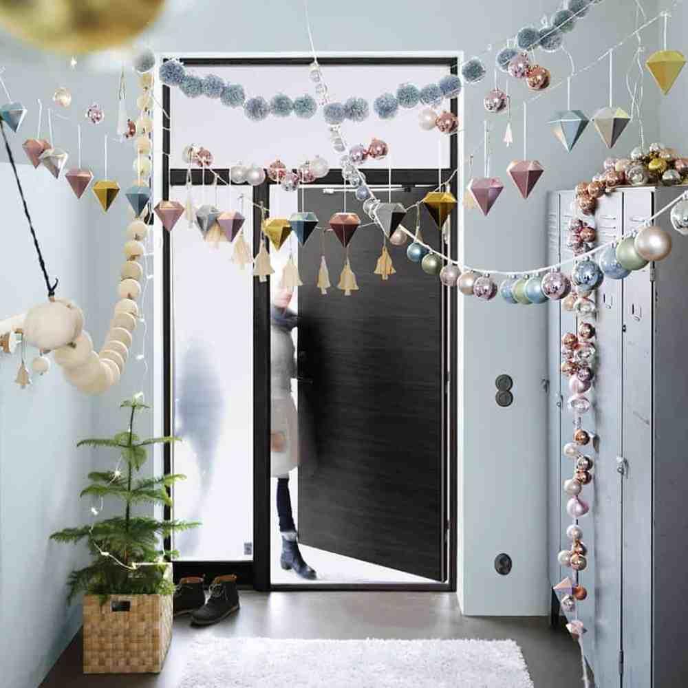 nouvelle collection ikea boule de sapin pastel - Ikea : la nouvelle collection Noël 2015