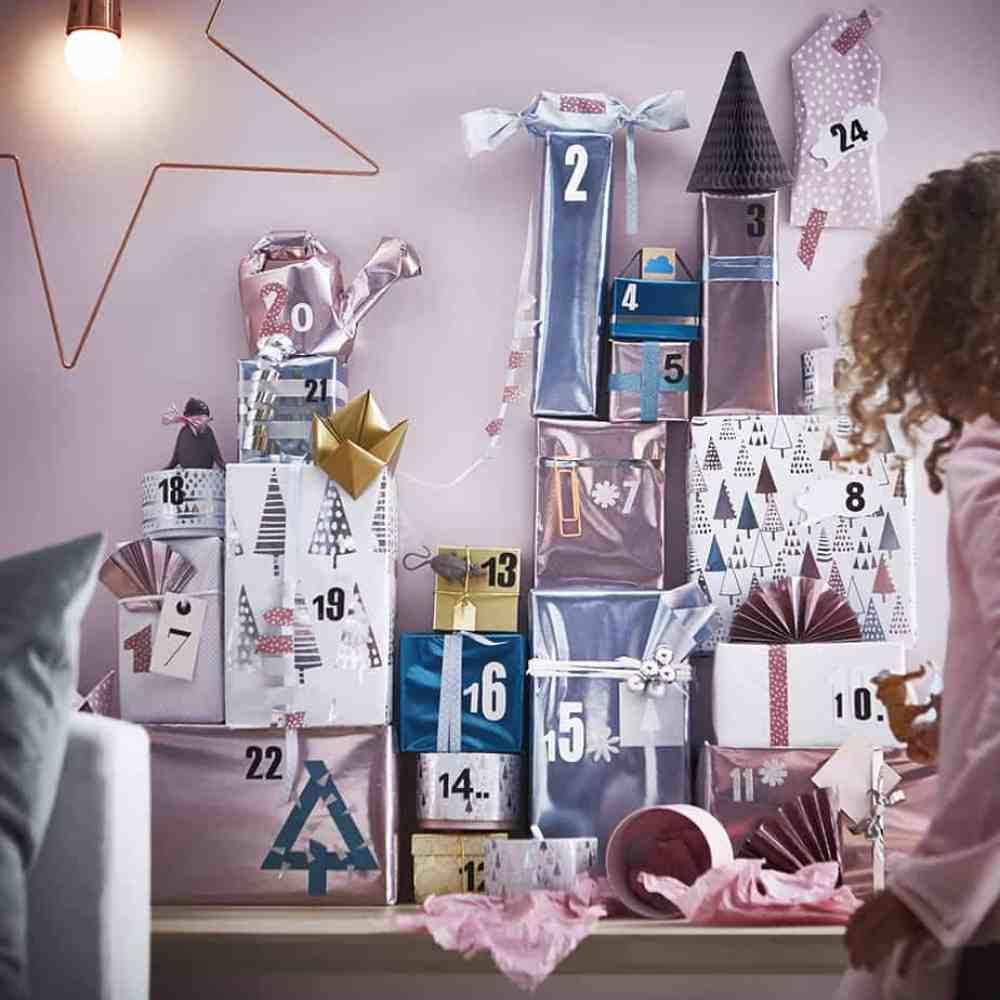 nouvelle collection noel ikea papiers cadeaux  - Ikea : la nouvelle collection Noël 2015