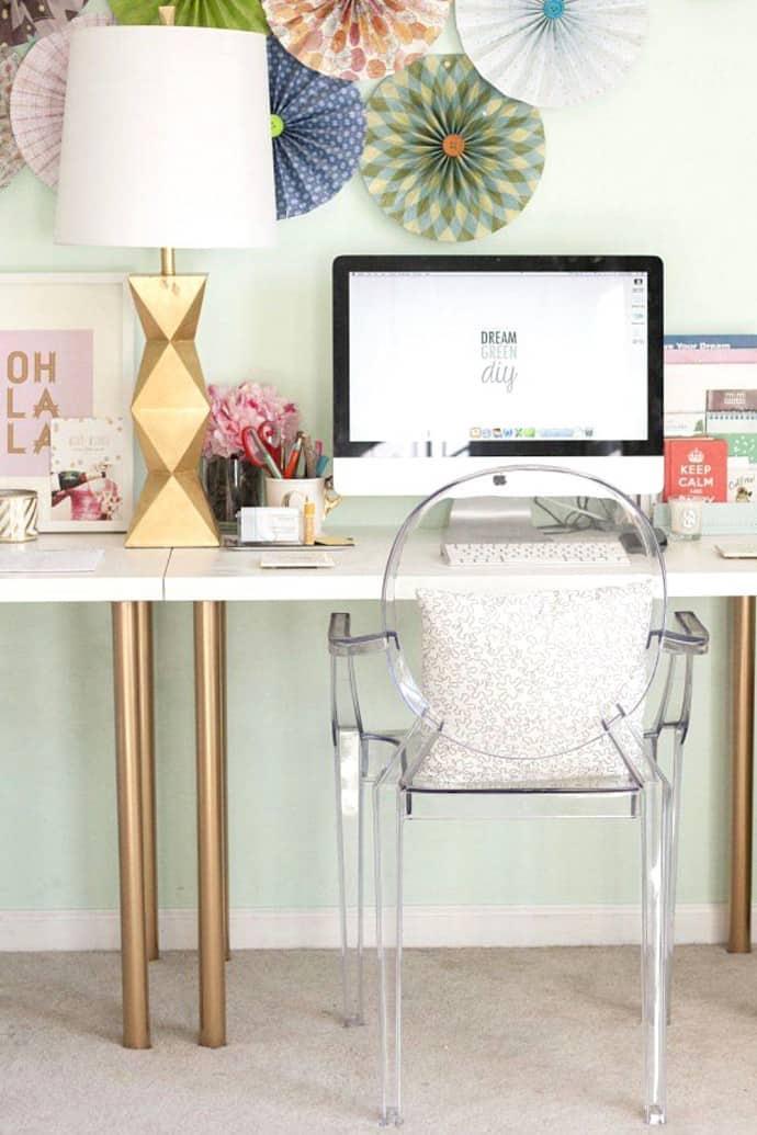 une lampe sympa pour le bureau - 10 astuces pour organiser votre bureau