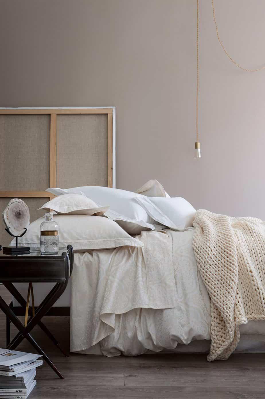 linge de lit allegorie nina ricci - Pinterest : une chambre cocooning pour l'hiver