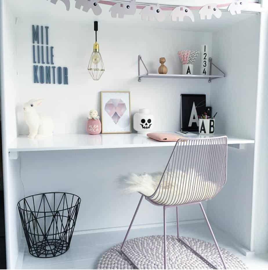 bureaux girly scandinave - 8 bureaux tendance pour une rentrée réussie