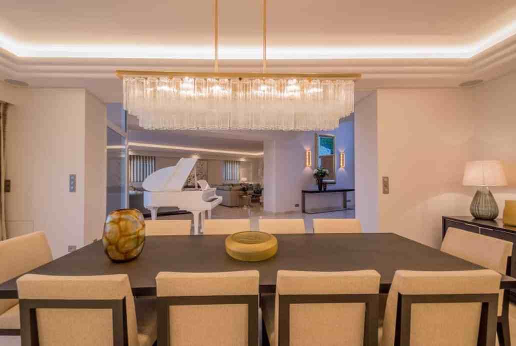 salle a manger villa riviera luxoria architecte - Luxoria Interiors, un cabinet d' architecte haut de gamme
