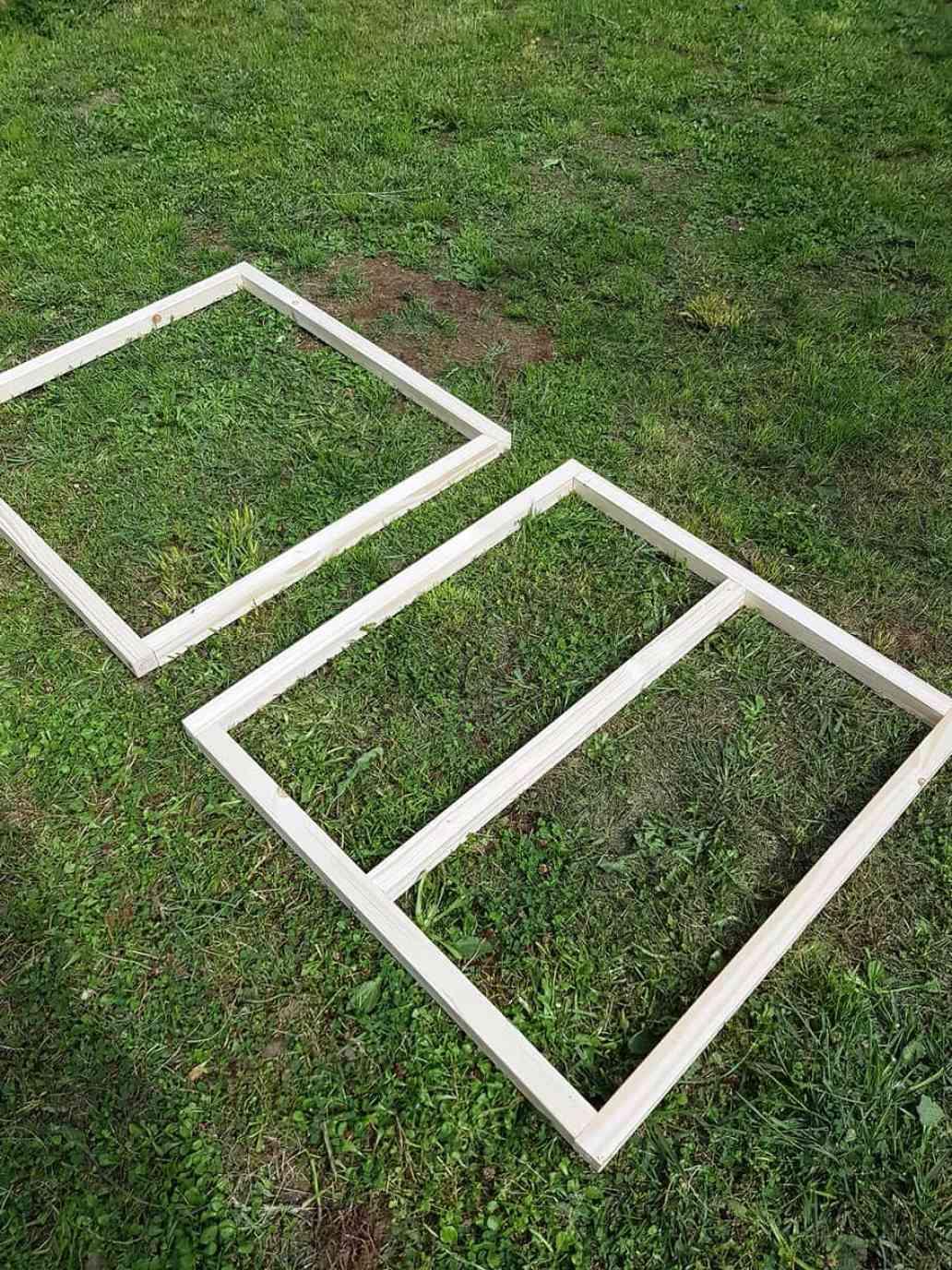 tasseaux bois structure table basse - DIY déco : comment fabriquer une table basse industrielle
