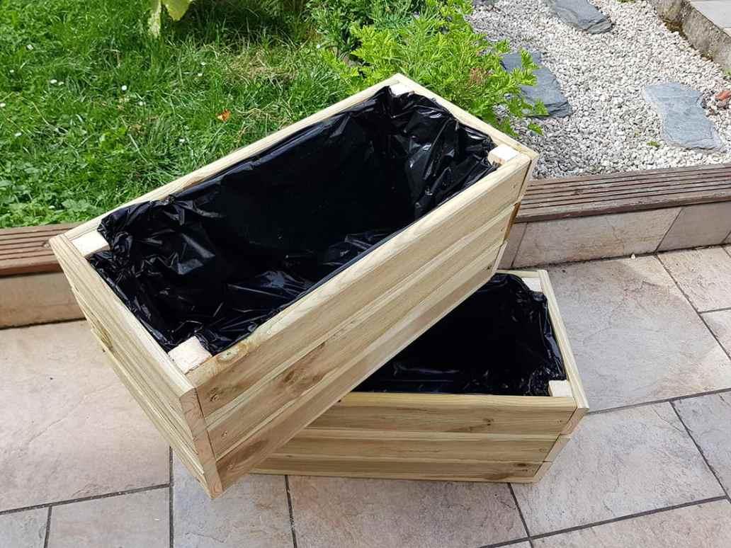 jardiniere en bois tuto bricolage - DIY : fabriquer une jardinière en bois pour le jardin