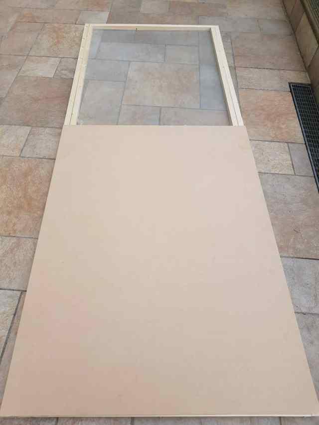 20180411 155241 e1531005292440 1536x2048 - DIY : fabriquer une porte coulissante de style verrière
