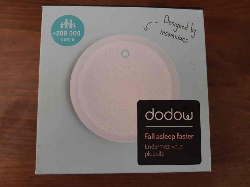 emballage dodow chezviviane - Dodow, un boitier lumineux pour s'endormir profondément
