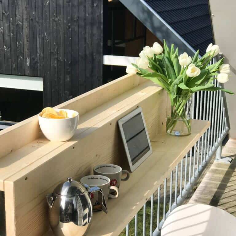 diy bar pour balcon - 8 DIY pour décorer le balcon