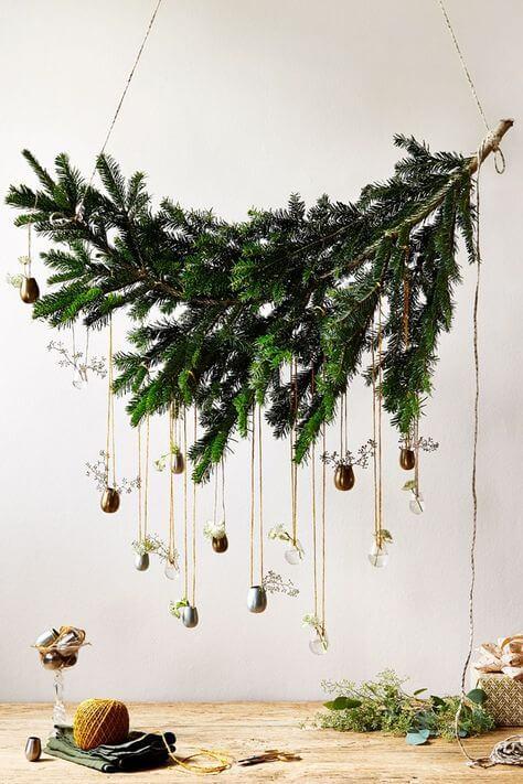 décoration noel pin sapin diy nature Noël Green et zéro déchet - Zoom sur la tendance Noël Green et zéro déchet