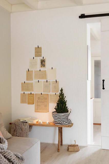 idees pour construire le sapin avec du papier livre - 10 idées pour fabriquer le sapin de Noël