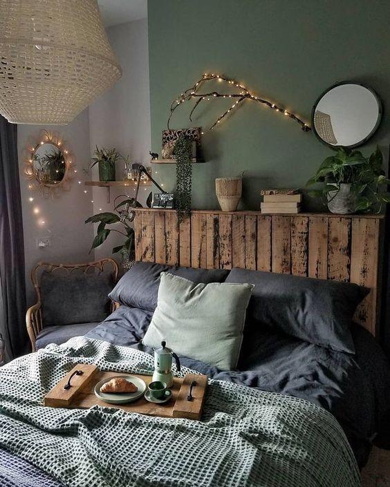 Une chambre dans une maison dhotes avec une déco nature 2 - Comment meubler un gîte avec originalité ?