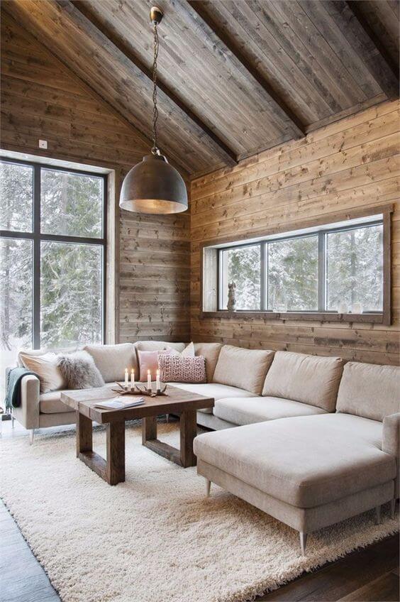 gîte à la montagne avec une décoration chalet 2 - Comment meubler un gîte avec originalité ?