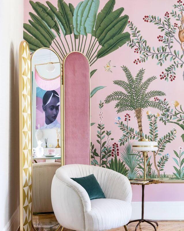 décoration féministe au style jungle frida kahlo  - Déco féministe : on craque pour le Girl Power