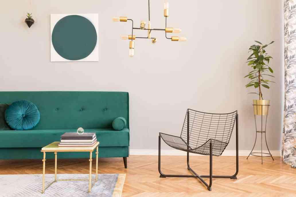 salon avec des meubles design 2 - Quel mobilier de salon pour quel style de déco ?