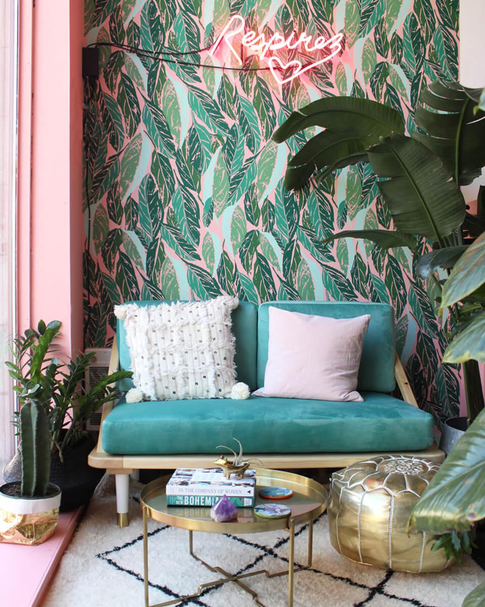un salon à la déco tropicale 1 1 - Quel mobilier de salon pour quel style de déco ?