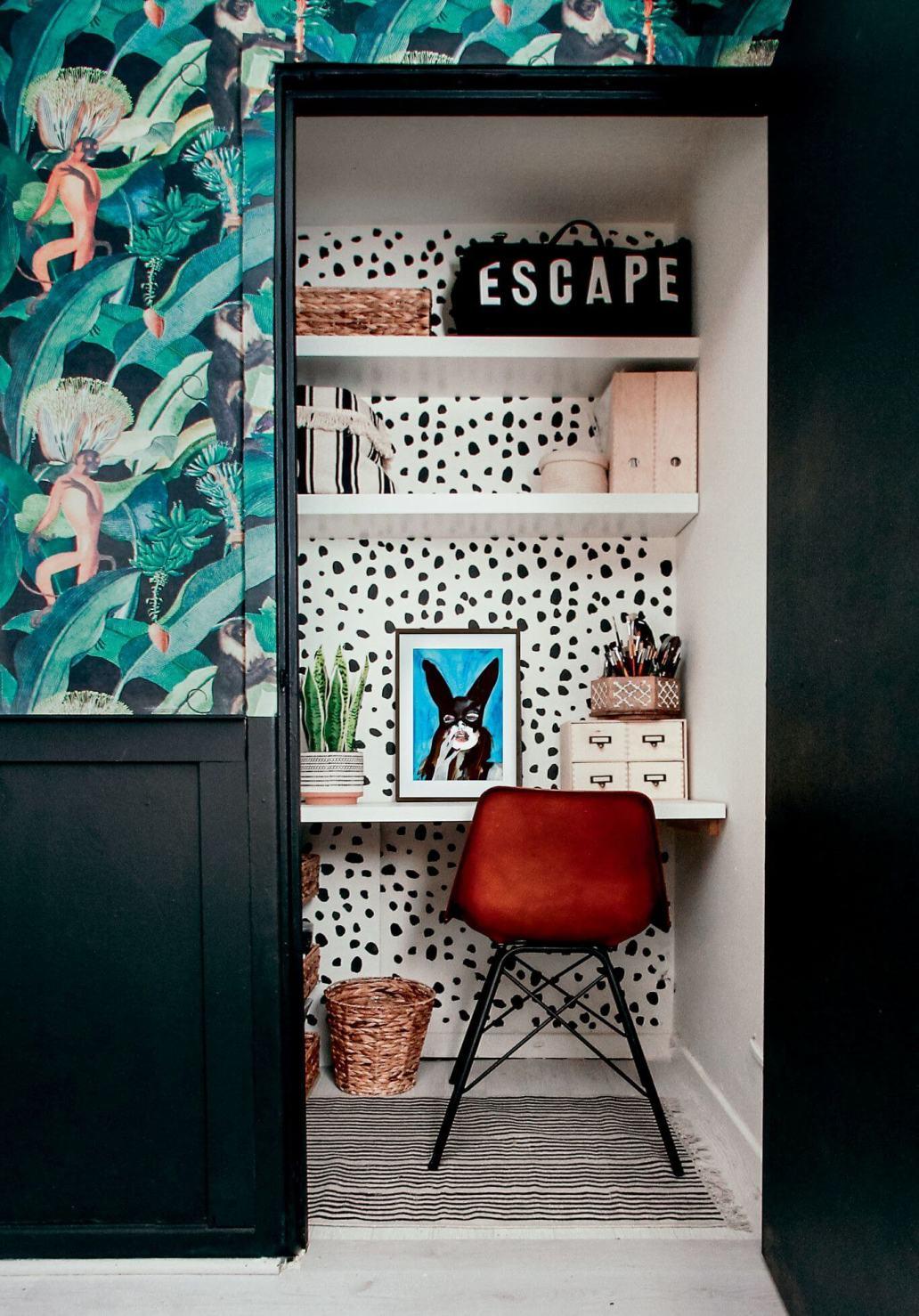 une alcôve avec un coin bureau  - Créer un coin détente dans une alcôve !