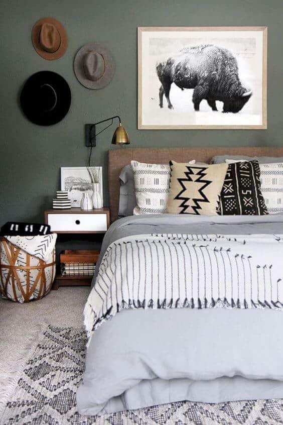 une décoration ethnique dans la chambre - Une déco ethnique dans toute la maison