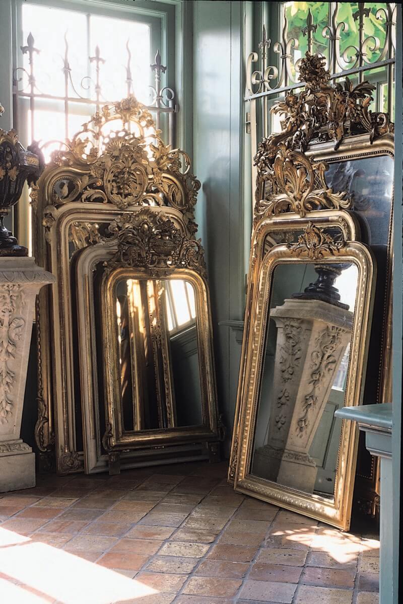 Le miroir chiné et son sublime cadre en bois doré 2 - Retaper un miroir chiné, les étapes à respecter