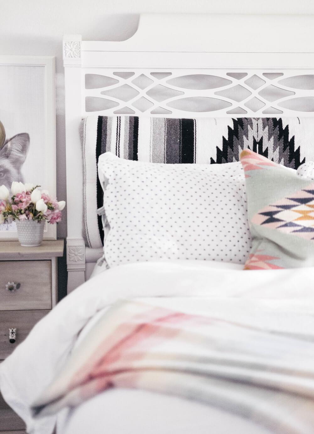 tête de lit en tissus matelassée - 8 inspirations DIY pour fabriquer une tête de lit