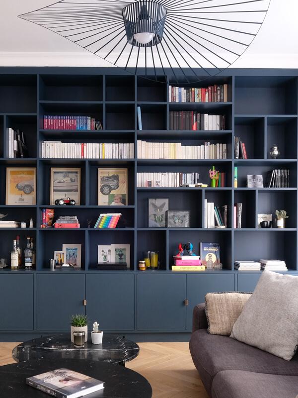 une grande bibliotheque modulable 2 - L'étagère modulable, un rangement décoratif et pratique