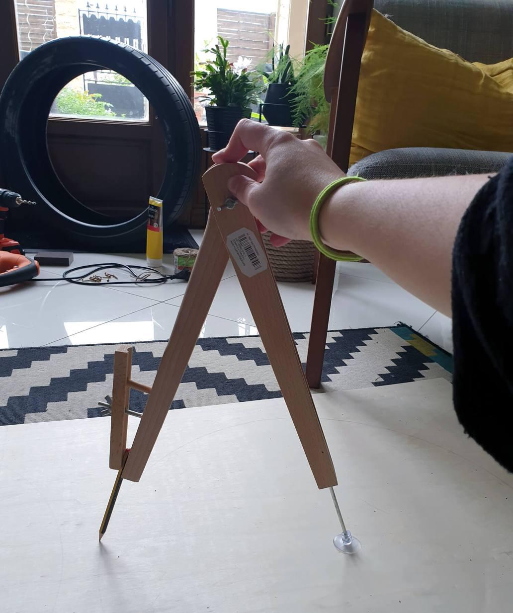 20200929 171630 - DIY Récup : fabriquer une table basse avec un pneu