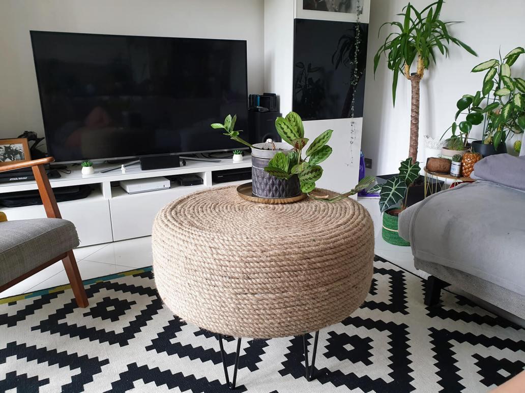 20200930 173545 - DIY Récup : fabriquer une table basse avec un pneu