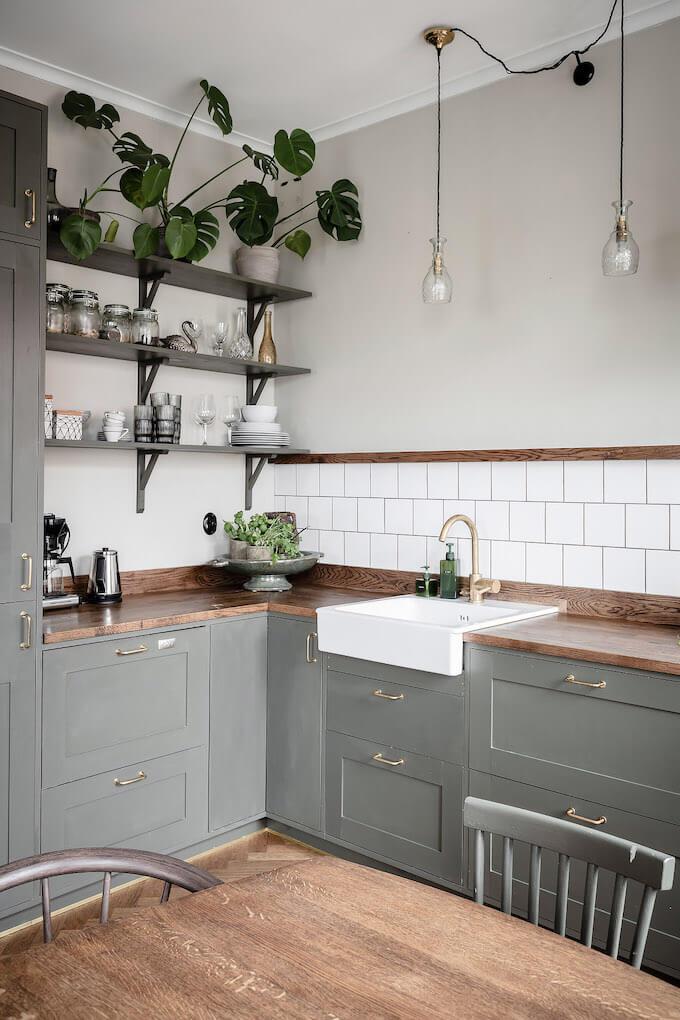 Une cuisine a la decoration campagne chic  - Quels critères pour bien choisir son cuisiniste ?