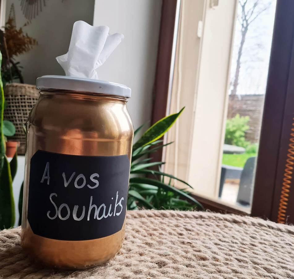 DIY : fabriquer une boite à mouchoir récup et décorative