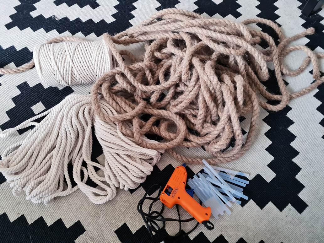 20210105 144220 - DIY bohème : fabriquer un tapis mandala avec des cordes