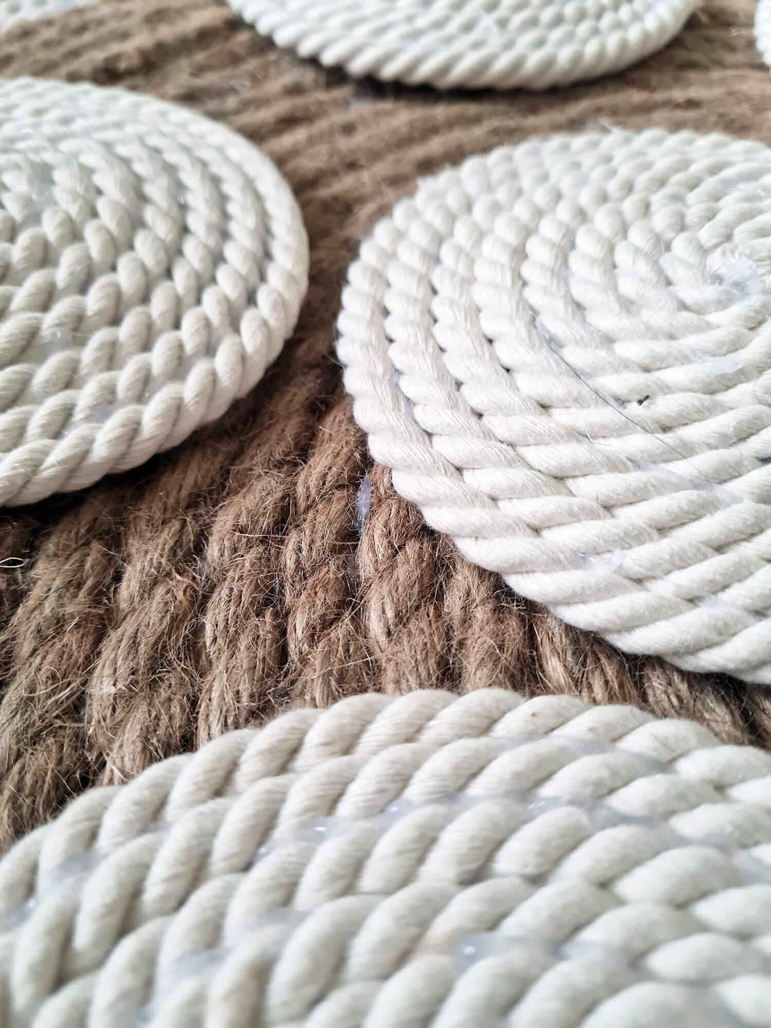 20210107 094726 - DIY bohème : fabriquer un tapis mandala avec des cordes