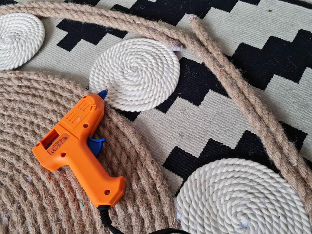 20210107 103040 - DIY bohème : fabriquer un tapis mandala avec des cordes