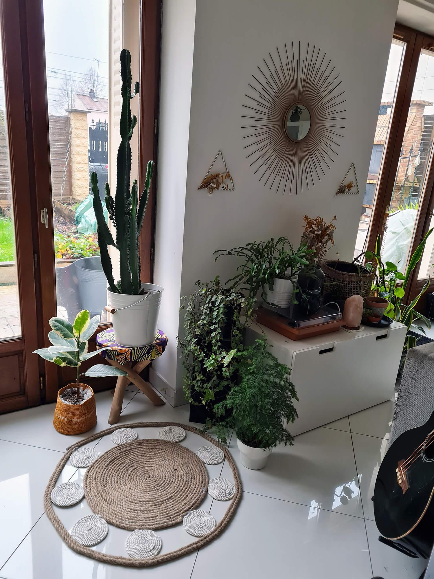 20210107 104342 1 - DIY bohème : fabriquer un tapis mandala avec des cordes