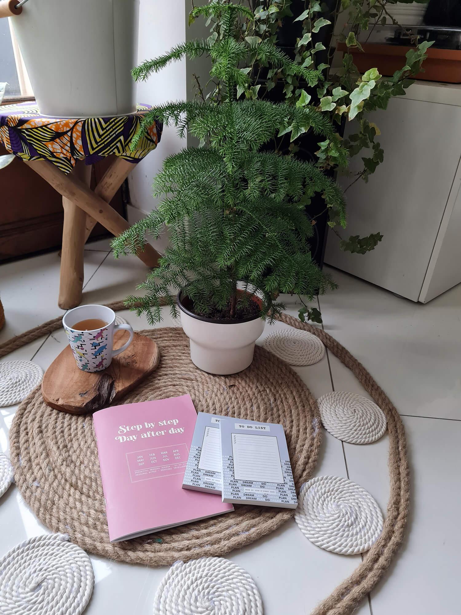 20210107 104738 - DIY bohème : fabriquer un tapis mandala avec des cordes