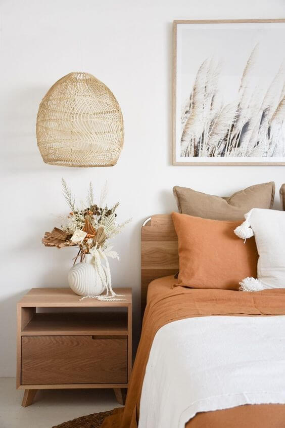 chambre decoration nature 2 - Tendances meubles et décoration 2021 : le grand décryptage