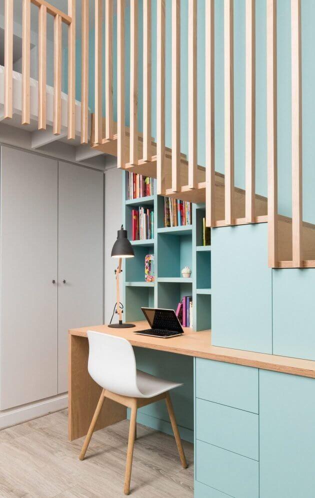 coin bureau style scandinave amenegement sous escalier e1515676184183 - Tendances meubles et décoration 2021 : le grand décryptage